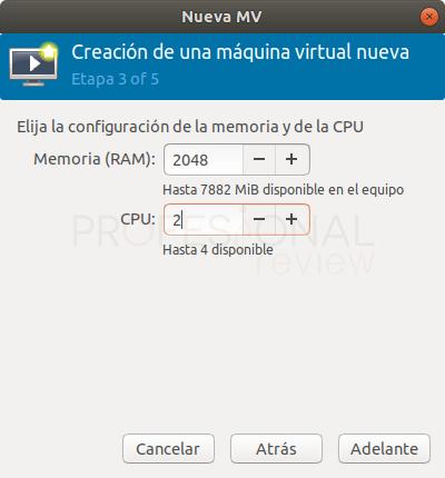 Crear máquina virtual en Qemu paso 04