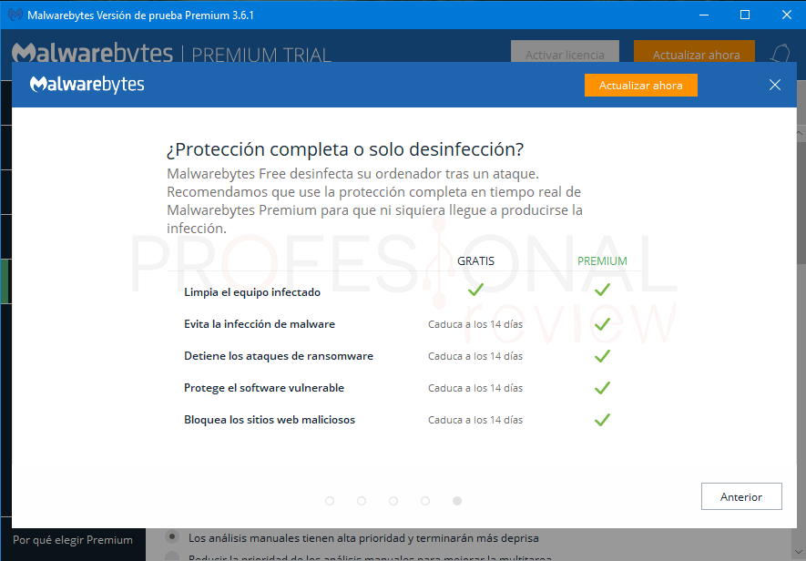 Malwarebytes Windows 10 paso 01