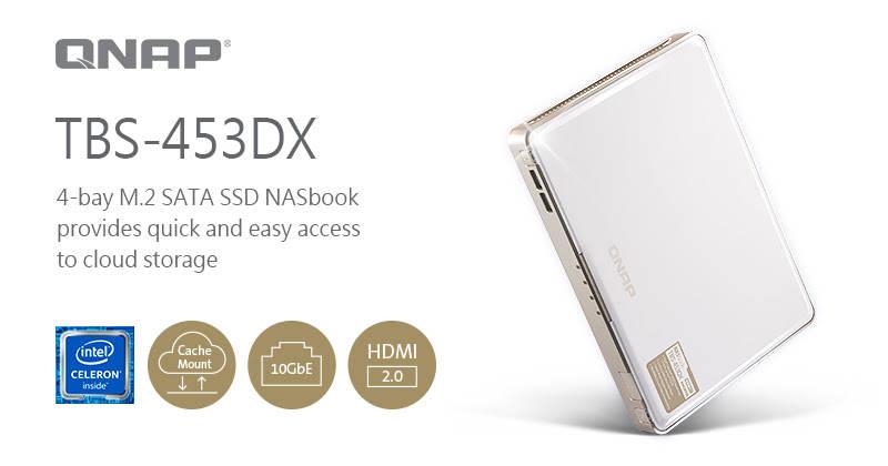 Nuevo QNAP NASbook TBS-453DX