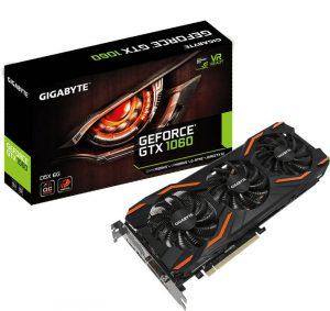 Nuevas Gigabyte GeForce GTX 1060 con 6 GB GDDR5X