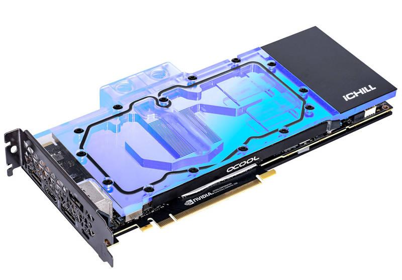 Inno3D GeForce RTX iChill Forstbite pasadas por agua