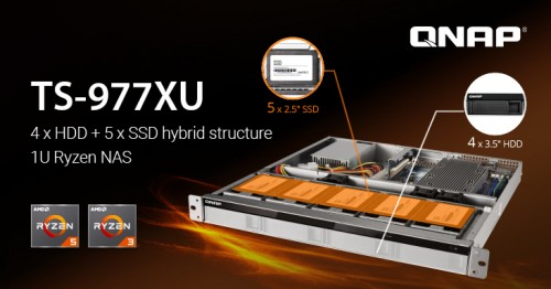 Nuevo NASN QNAP TS-977XU con AMD Ryzen