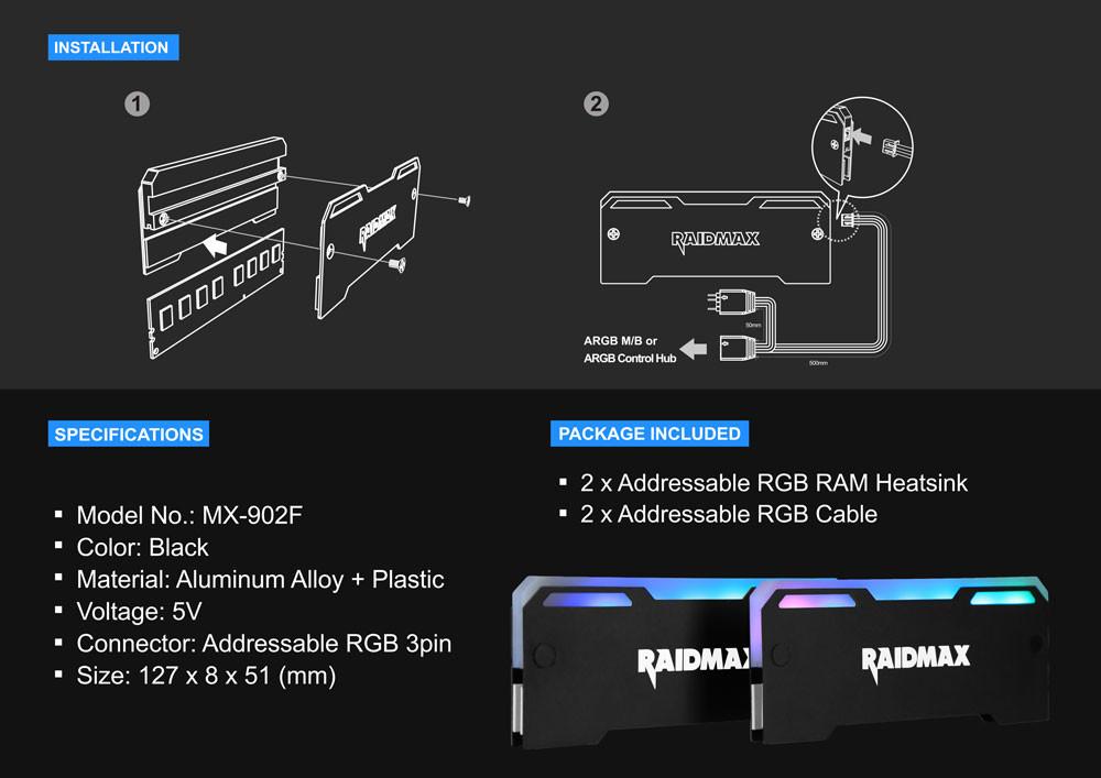 RAIDMAX MX-902F