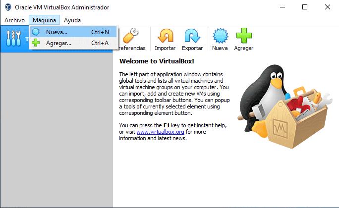 Instalar Raspbian en VirtualBox paso 01