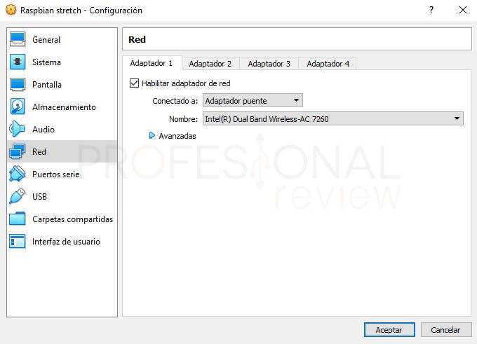 Instalar Raspbian en VirtualBox paso 07