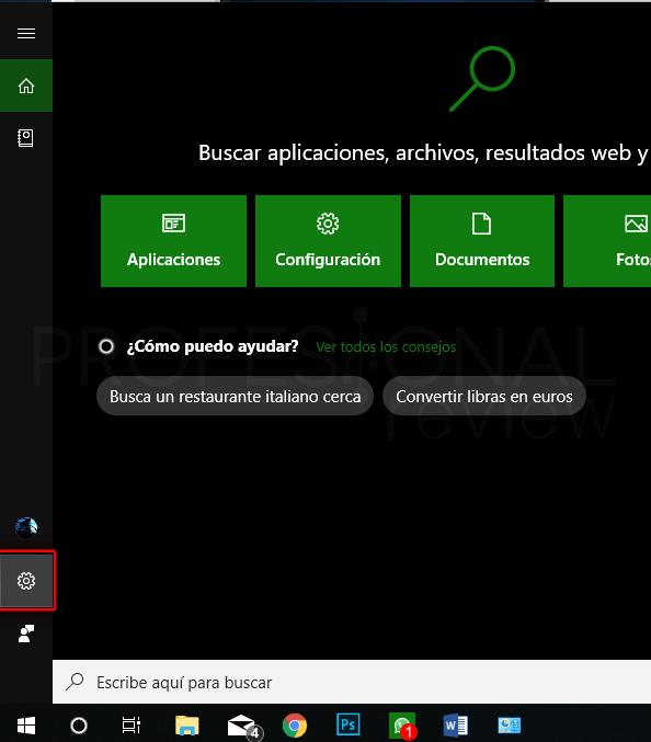 Reconocimiento de voz en Windows 10 paso 09