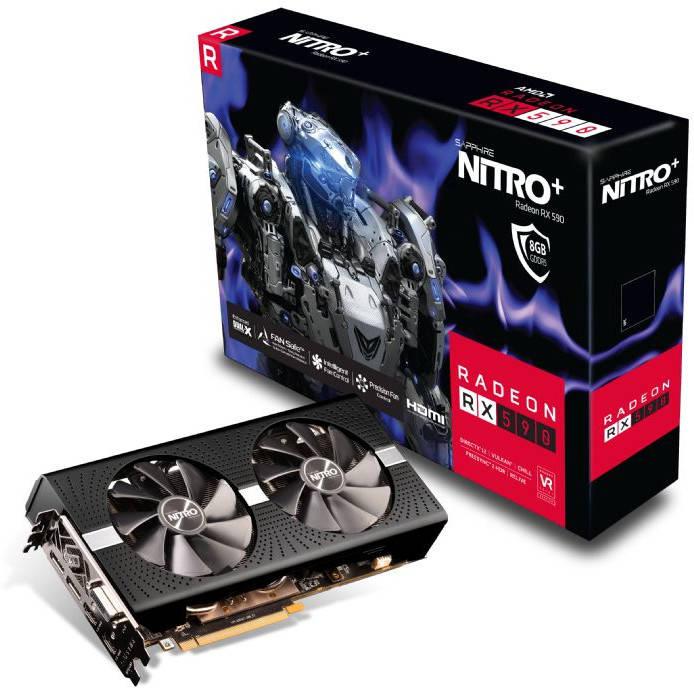 Se anuncia la Sapphire Radeon RX 590 Nitro+ OC Sans