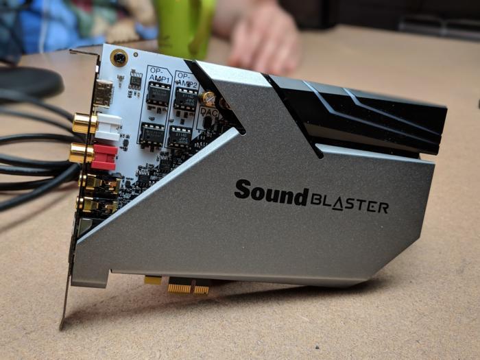 Sound BlasterX AE-9