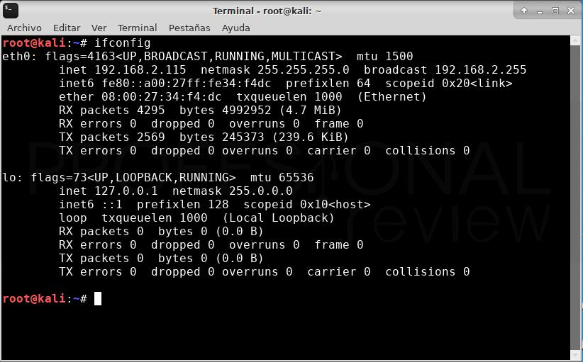Wi-Fi en Kali Linux VirtualBox paso 16