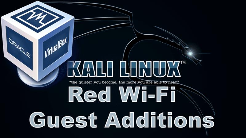 Wi-Fi en Kali Linux VirtualBox