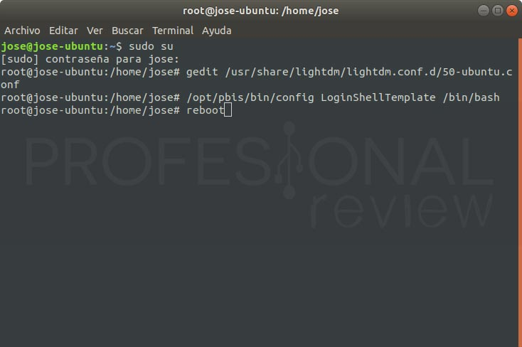 Unir Ubuntu 18.04 a Active Directory paso 14