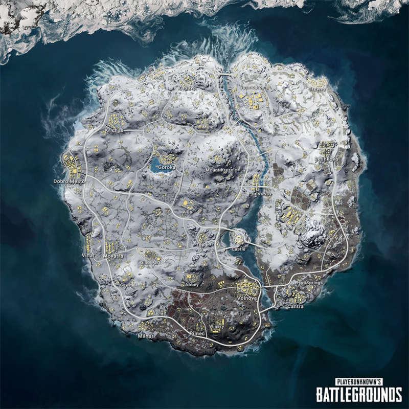 PUBG anunció su nuevo mapa invernal Videojuegos