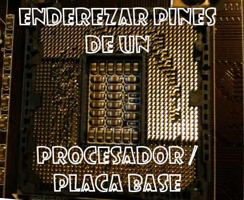 Photo of Como enderezar los pines de un procesador o placa base