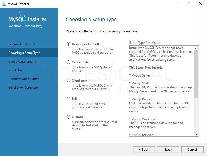 Instalar MySQL en Windows 10 paso 03