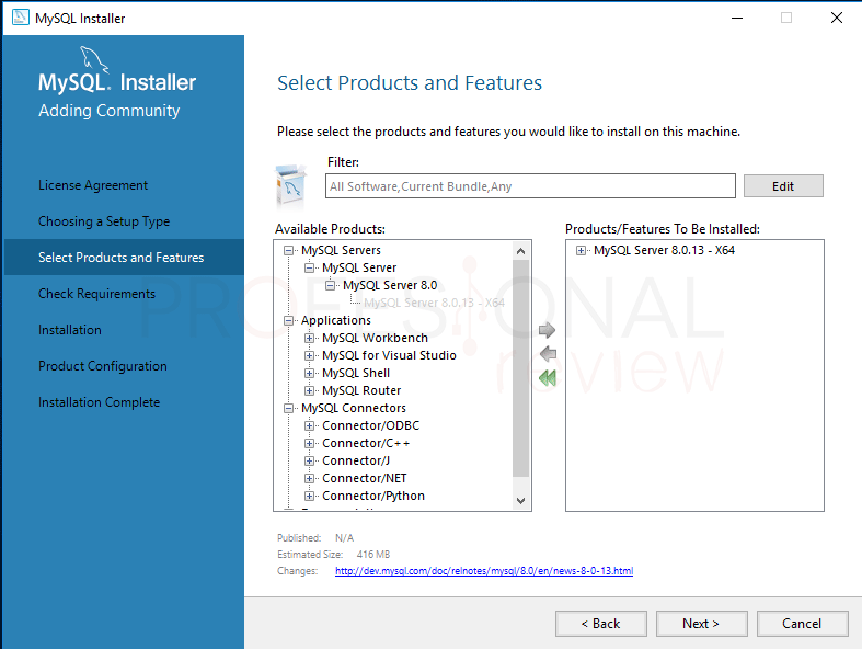 Instalar MySQL en Windows 10 paso 04