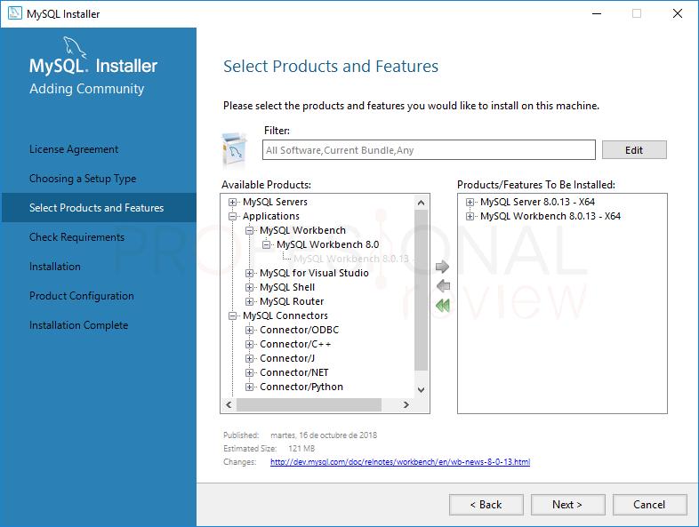 Instalar MySQL en Windows 10 paso 05