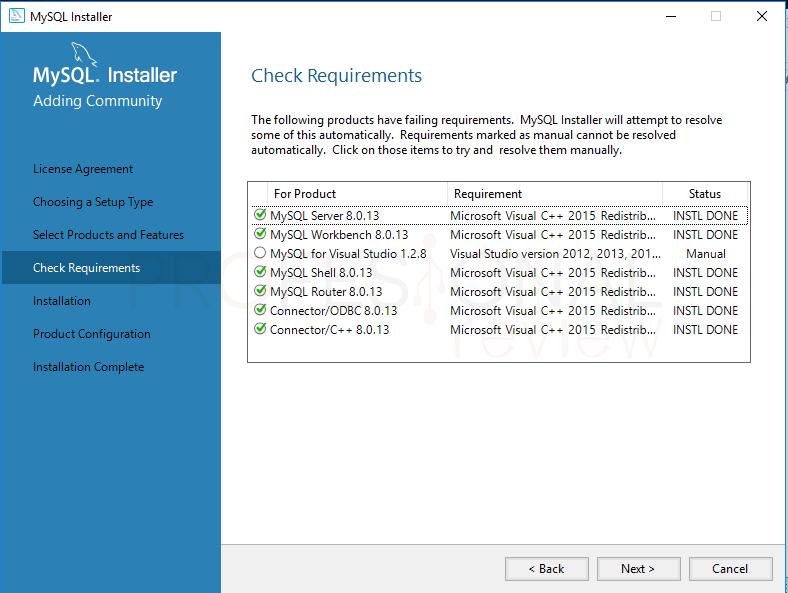 Instalar MySQL en Windows 10 paso 08