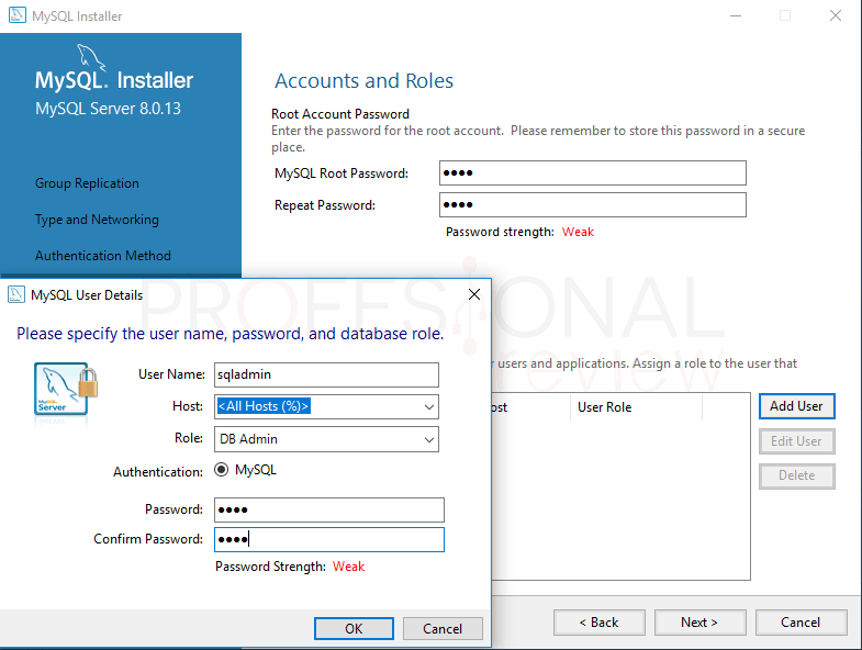Instalar MySQL en Windows 10 paso 12