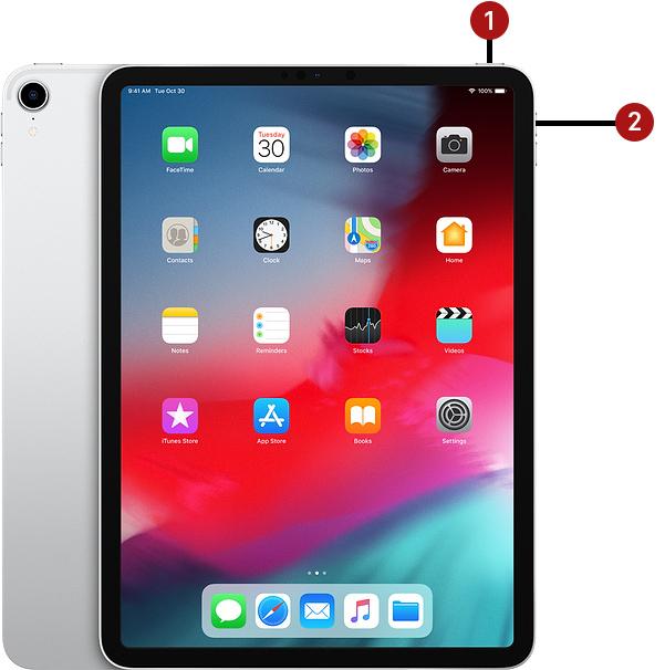 Reiniciar iPad Pro 2018