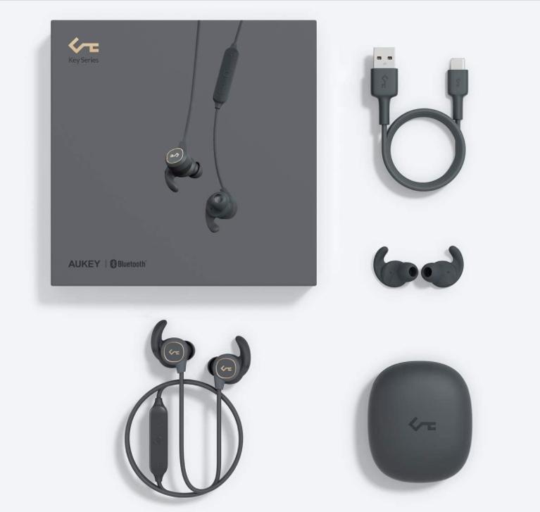 mejores auriculares inalámbricos deporte Aukey