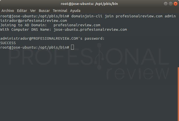 Unir Ubuntu 18.04 a Active Directory paso 10