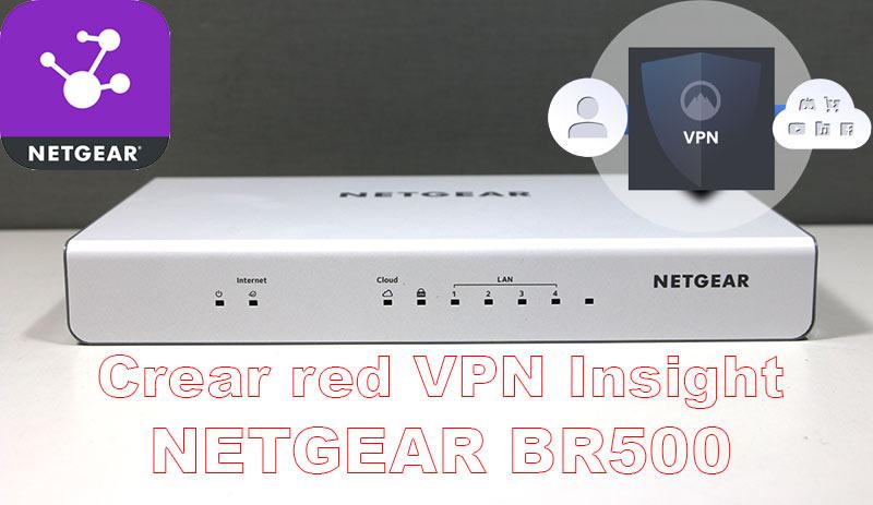 Red VPN NETGEAR BR500