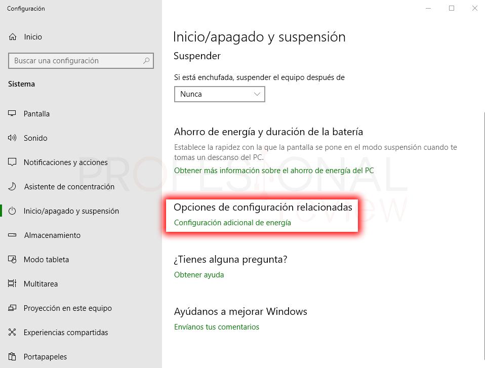 Windows 10 se reinicia solo paso 02