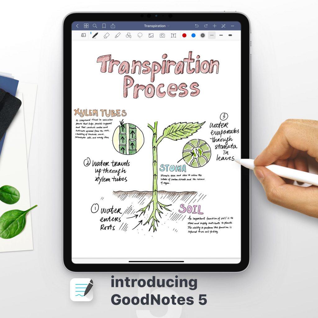 GoodNotes se reinventa como el mejor cuaderno digital para el iPad