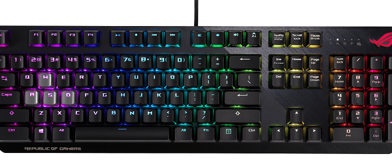 Photo of ASUS presenta los teclados 'gaming' ROG Strix CTRL y TUF Gaming K7