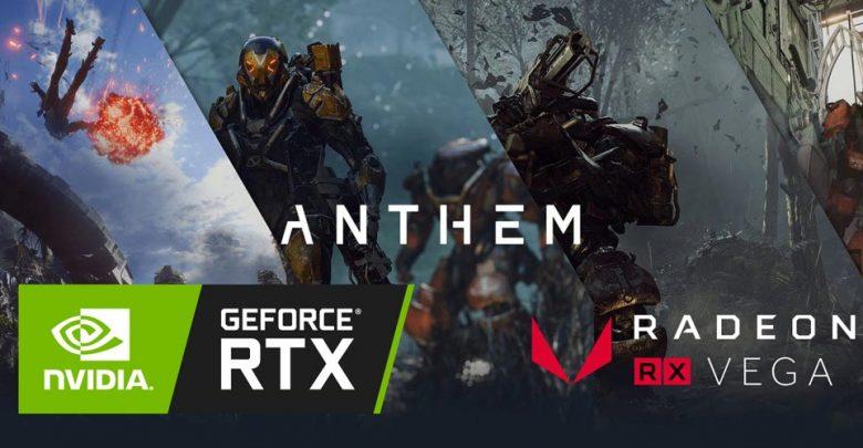 Photo of Resultados de la demostración VIP de Anthem en las tarjetas GeForce RTX y AMD Vega