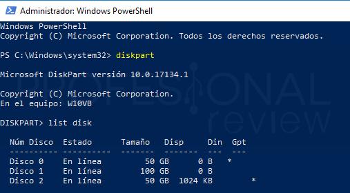 Convertir disco duro en GPT paso 04