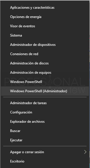 Deshabilitar Hyper-V en Windows 10 paso 05