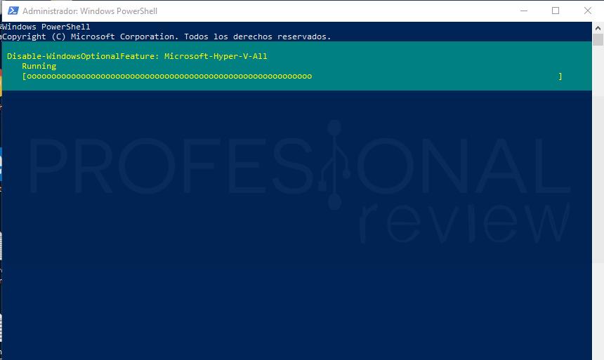 Deshabilitar Hyper-V en Windows 10 paso 06
