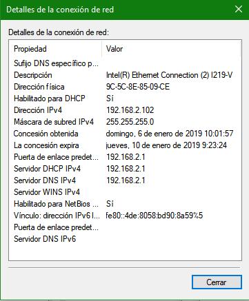 Direccionamiento IP 01