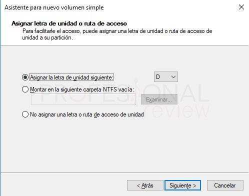 Eliminar particiones en Windows 10 paso 09
