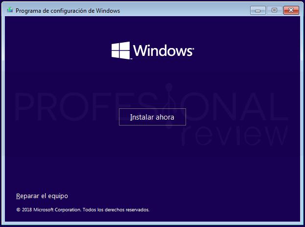 Eliminar particiones en Windows 10 paso 17