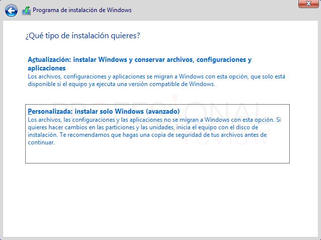 Eliminar particiones en Windows 10 paso 19