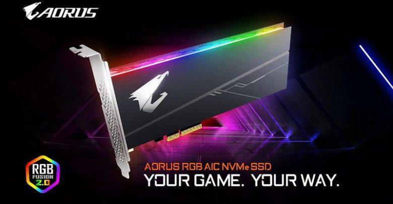 Photo of Gigabyte actualiza su linea de unidades SSD con la serie AORUS RGB