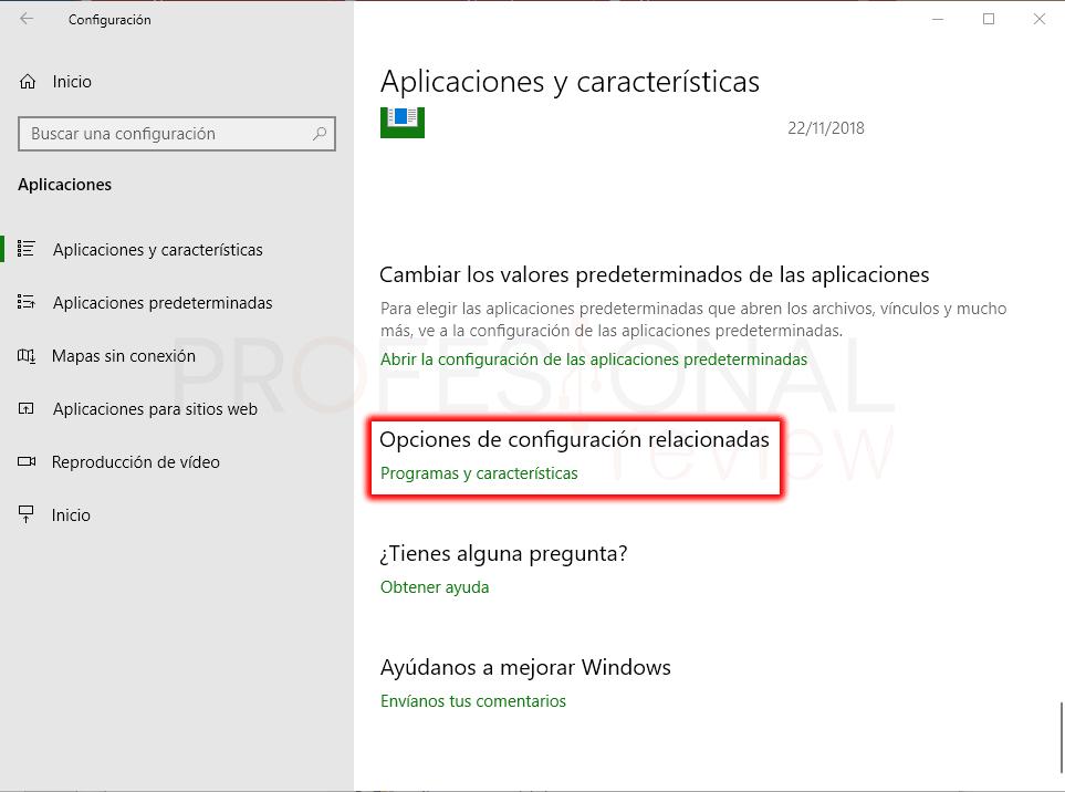 Habilitar Hyper-V en Windows 10 paso 03