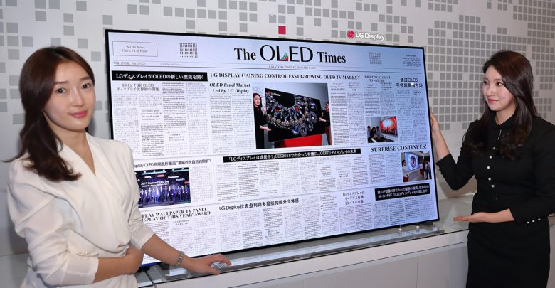 Photo of LG presenta un televisor de 88 pulgadas con resolución 8K