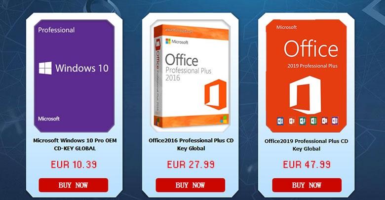 Photo of Licencias de Windows 10 y Microsoft Office desde 10,39 euros