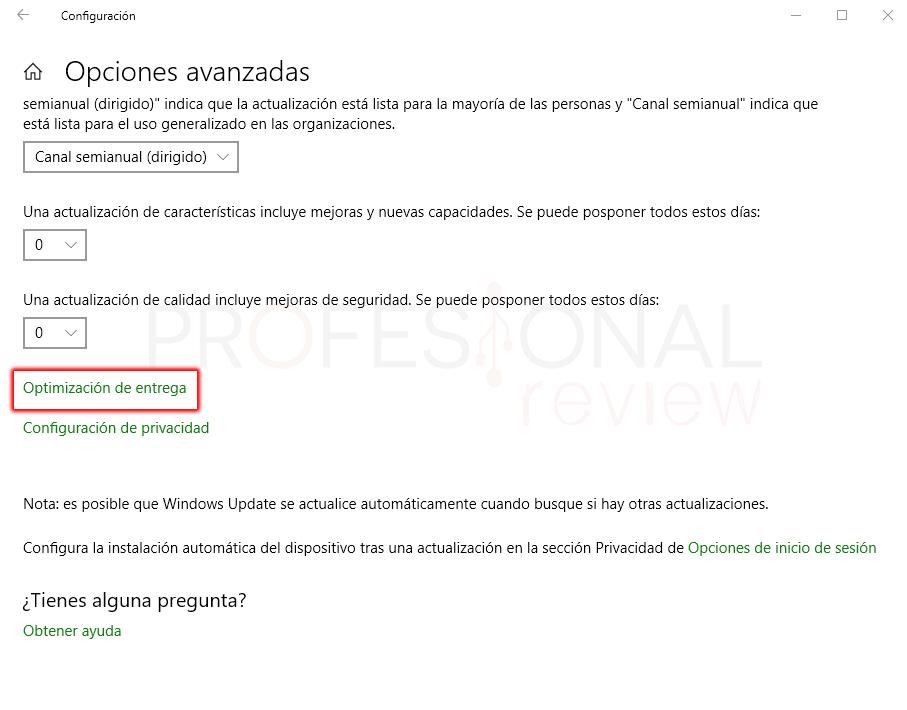 Limitar ancho de banda en Windows 10 paso 03