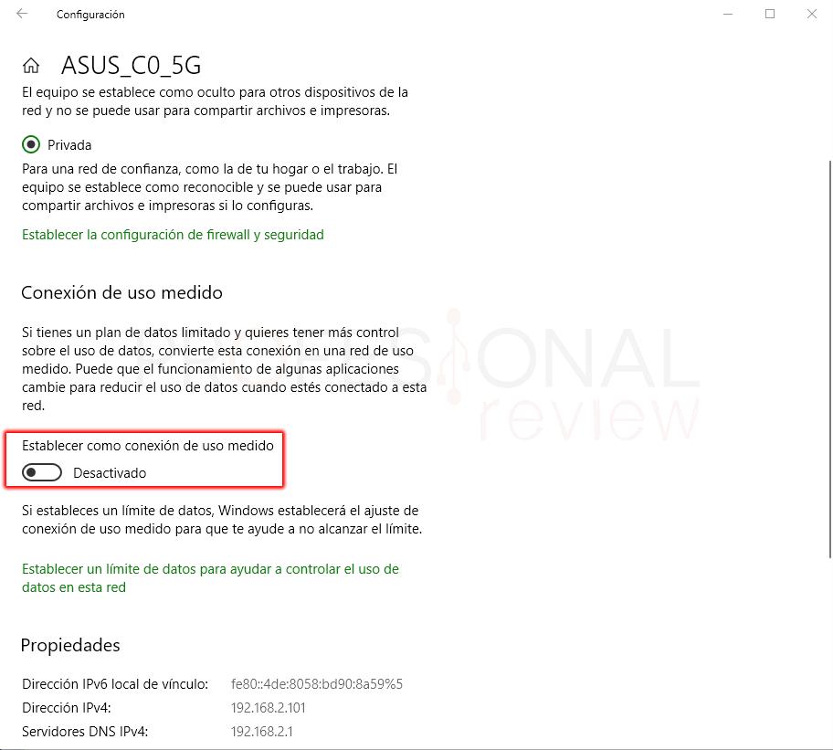 Limitar ancho de banda en Windows 10 paso 15