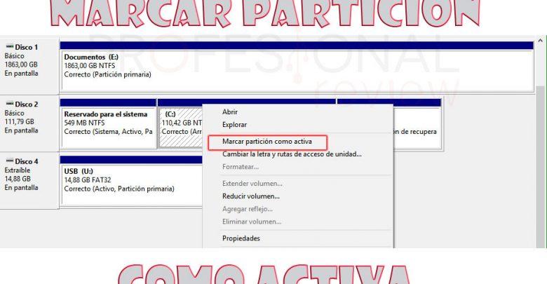 Photo of Marcar partición como activa o inactiva 【 MEJORES MÉTODOS 】