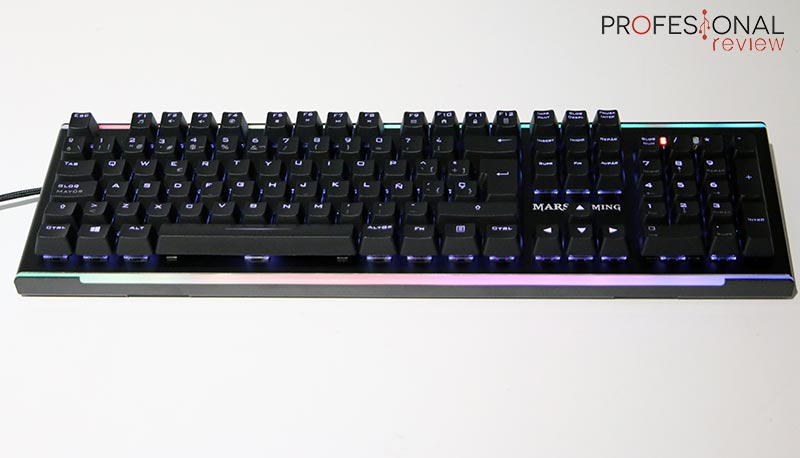 Mars Gaming MK6 Iluminación