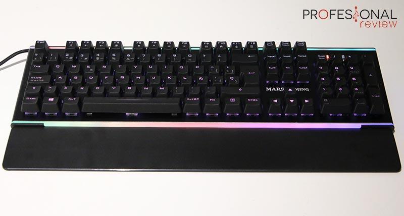teclados gaming Mars Gaming MK6