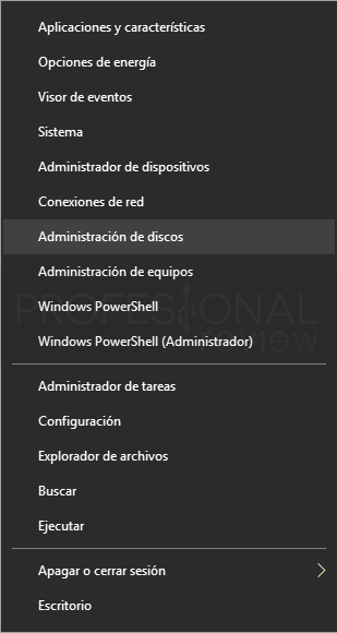 Particionar USB paso 01