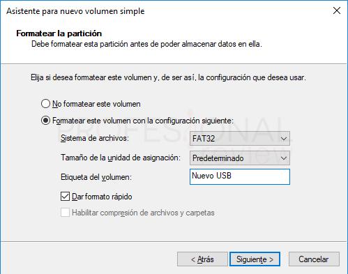 Particionar USB paso 07