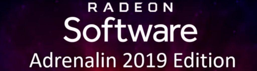 Radeon Software Adrenalin 2019 Edition 19.6.1