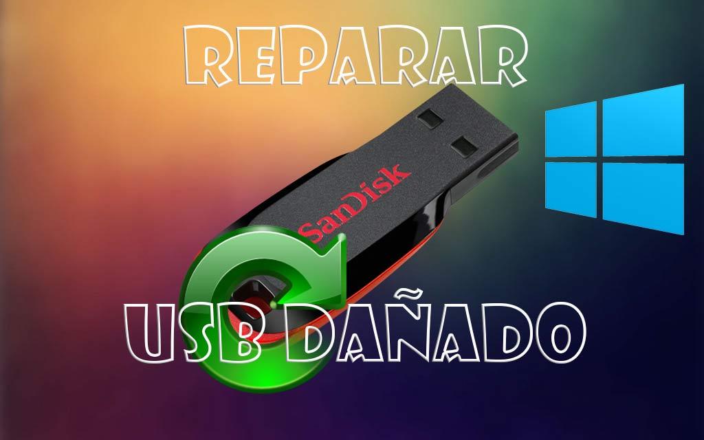 Reparar USB dañado